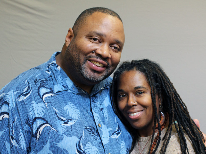Franklin and Sherry Gilliard live in transitional housing with their three children in Tacoma. Image credit: StoryCorps.