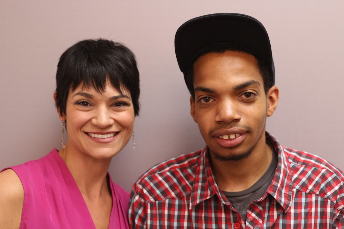 """In the newest StoryCorps """"Finding Our Way"""" story, Taylor Henson tells his friend Chelsea Lindquist about his family's experience with homelessness. Voices like Taylor's motivate our staff to advocate for policies that will help end homelessness."""