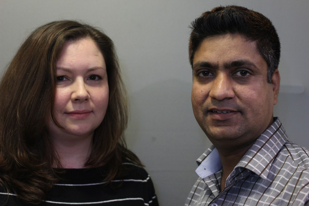 """Alena Rogers and Raj Kumar's StoryCorps """"Finding Our Way"""" conversation is the latest to air on KUOW. Image by StoryCorps."""
