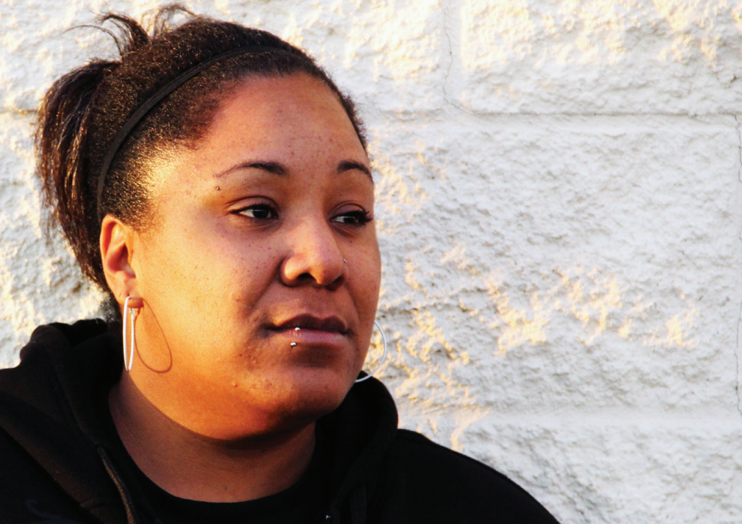 Virginia Dickerson has been forced to choose between paying court-imposed debt and buying food. Image from Columbia Legal Services and ACLU of Washington.